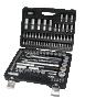 108pcs/Set socket wrench 1/4 & 1/2 4-32mm 48 CR-V
