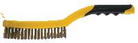 Bi- Material Wire Brush Brass